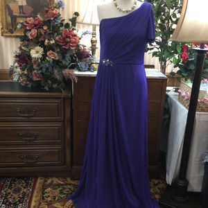 Violet Blue Pageant Formal Drag Queen Gown Dress